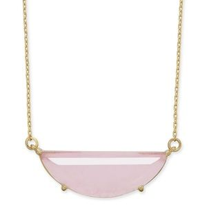 Kate spade half circle pendant necklace
